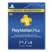 PlayStation Plus Card PSN UK 90 Day Subscription Card PS3 & PS Vita & PS4