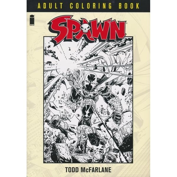 Spawn Adult Coloring Book