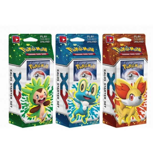 Pokemon TCG Kalos Starter Set XY Theme Deck