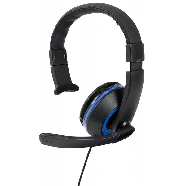 Gioteck XH50 Wired Mono Gaming Headset Blue (PS4/Xbox One/PC ...