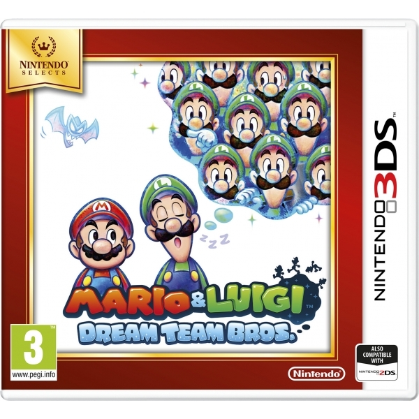 Mario & Luigi Dream Team Game 3DS (Selects)