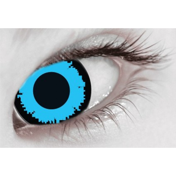 Angelic Blue 1 Day Halloween Coloured Contact Lenses (MesmerEyez XtremeEyez) - Image 2
