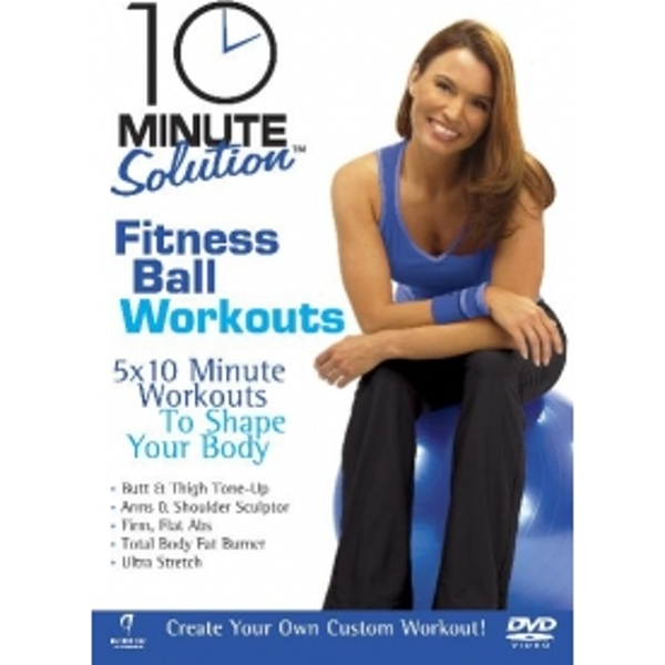 10 Minute Solution Fitness Ball Workouts DVD