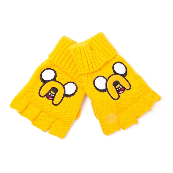 Adventure Time - Jake Unisex One Size Gloves - Yellow