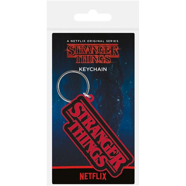 Stranger Things - Logo Keychain
