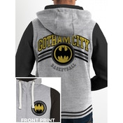 DC Originals - Gotham Men's Small Hoodie - Grey