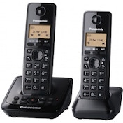 Panasonic Digital Cordless Telephone with Answer System Twin uk pLUG