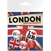 London Keep Calm Badge Pack