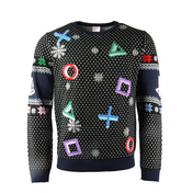 Playstation - Controller Symbols Unisex Christmas Jumpers X-Large