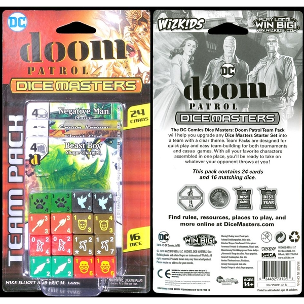 DC Comics Dice Masters: Doom Patrol Team Pack - Image 1