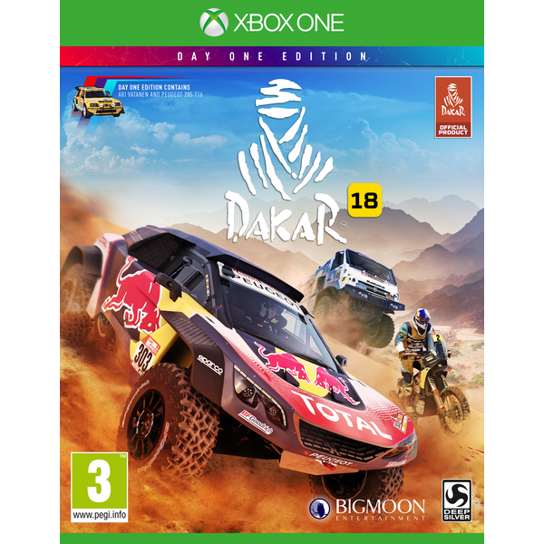 Dakar 18 Day One Edition Xbox One Game - Image 1
