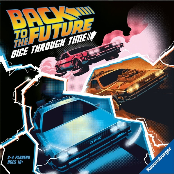 Back to the Future: Dice Through Time Game - Image 1