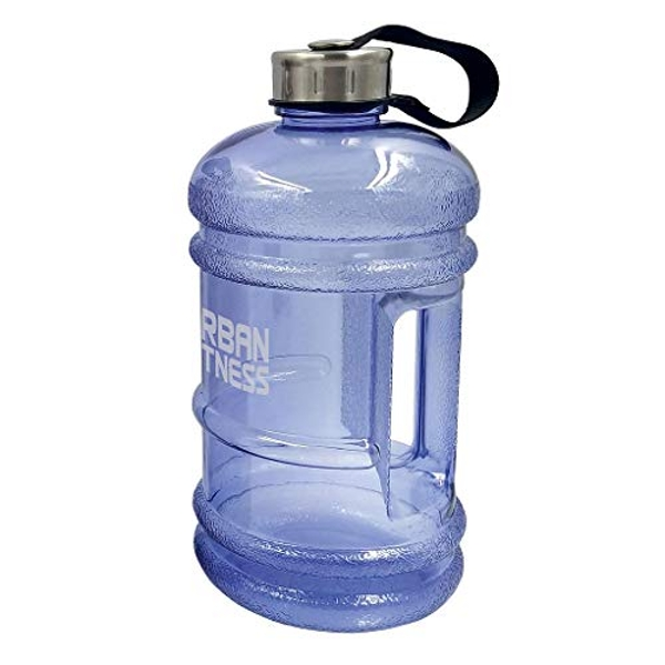 Urban Fitness Unisex's Quench 2.2L Water Bottle, Ocean Blue