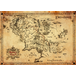 Lord Of The Rings Parchment Map Maxi Poster - Image 2