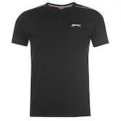 Slazenger Plain T-Shirt Small Black