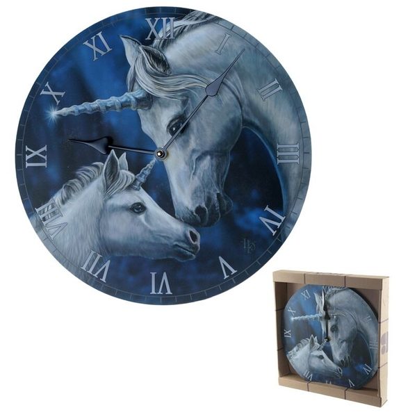 Fantasy Sacred Love Unicorn Wall Clock