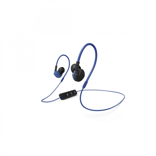 "Hama ""Active BT"" Clip-On Sport Earphones Black/Blue"