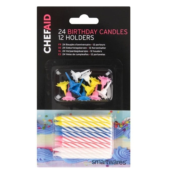 Chef Aid Birthday Candles