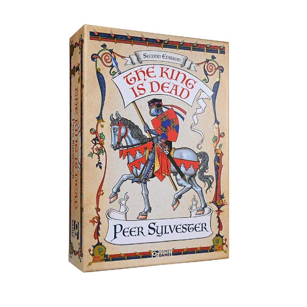 Image of The King is Dead: Second Edition Board Game