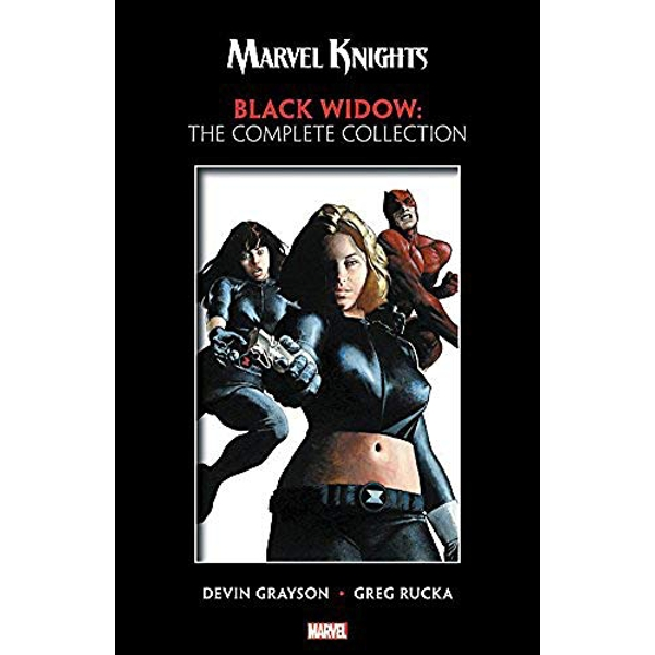 Marvel Knights: Black Widow By Grayson & Rucka - The Complete Collection  Paperback / softback 2018