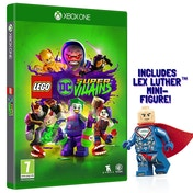 Lego DC Super Villains Xbox One Game (Includes Lex Luthor Mini-Figure)