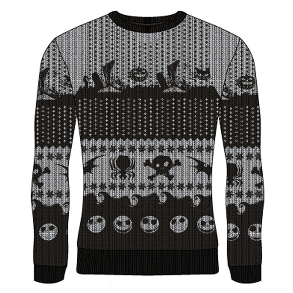 Nightmare Before Christmas - Symbols Unisex Christmas Jumper Large