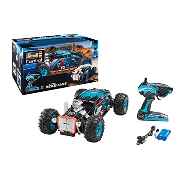 RC 4WD Hotrod Muscle Racer Revell Control
