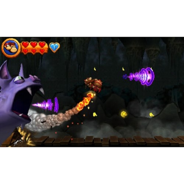 Donkey Kong Country Returns 3D Game 3DS - Image 2