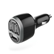 Hama Car Charger, 3x USB, 5.2 A, black