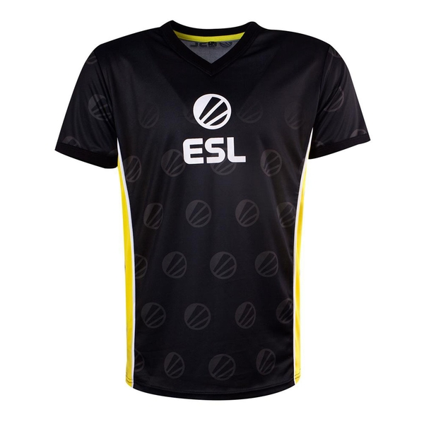 ESL - Victory E-Sports Men's Large Jersey - Black/Yellow