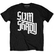 Eminem - Shady Slant Men's Small T-Shirt - Black