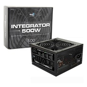Aerocool Integrator 500W 120mm Silent Fan 80 PLUS Certified PSU