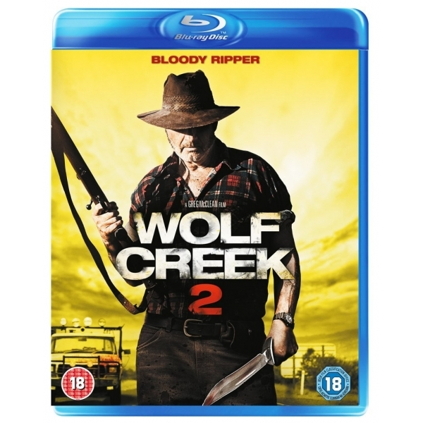 Wolf Creek 2 Blu-ray
