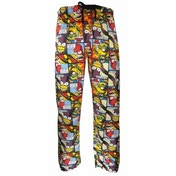 The Simpsons 'Comic Strip' Loungepants Small One Colour
