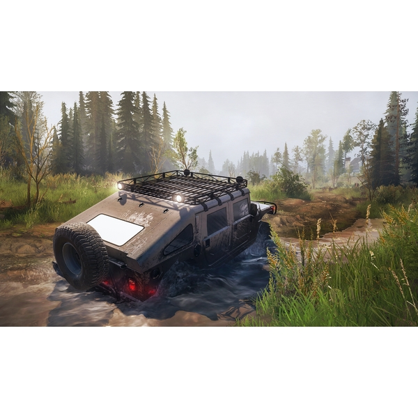 spintires mudrunner american wilds edition ps4 game. Black Bedroom Furniture Sets. Home Design Ideas