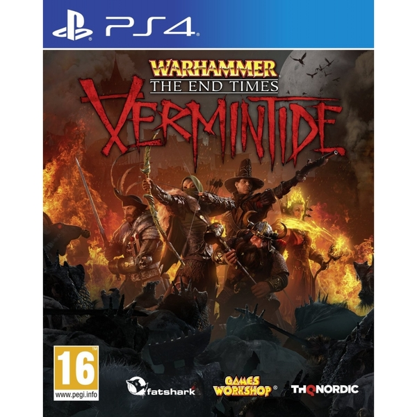 Warhammer End Times Vermintide PS4 Game
