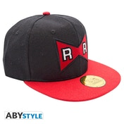 Dragon Ball - Ribbon Snapback Cap - Black & Red