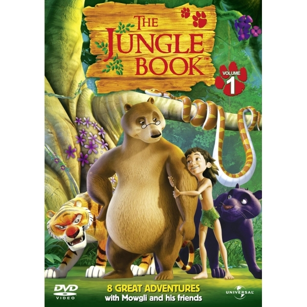 The Jungle Book: Series 1 DVD