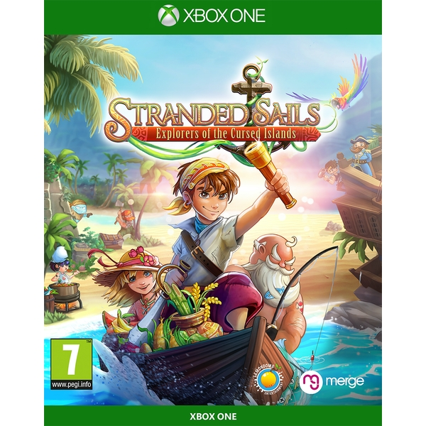 Stranded Sails Explorers of the Cursed Islands Xbox One Game