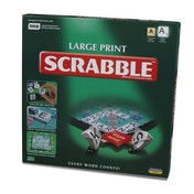 Large Print Scrabble Board Game