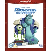 Monsters University 3D Blu-ray and 2D Blu-ray