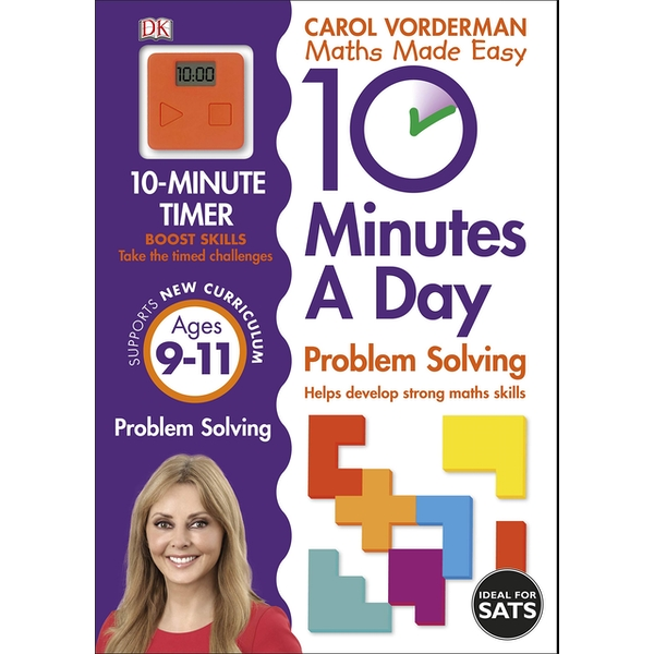 10 Minutes a Day Problem Solving KS2 Ages 9-11 by Carol Vorderman (Paperback, 2015)