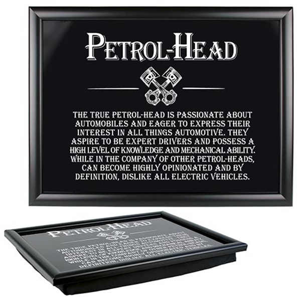 Ultimate Gift for Man Lap Trays Petrol Head