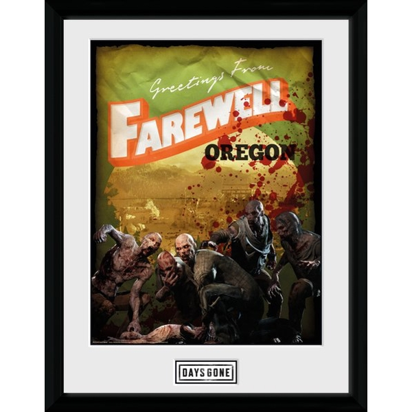Days Gone Greetings from Farewell Collector Print