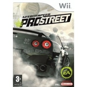 Need For Speed ProStreet Game Wii