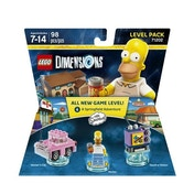 Ex-Display The Simpsons Lego Dimensions Level Pack Used - Like New