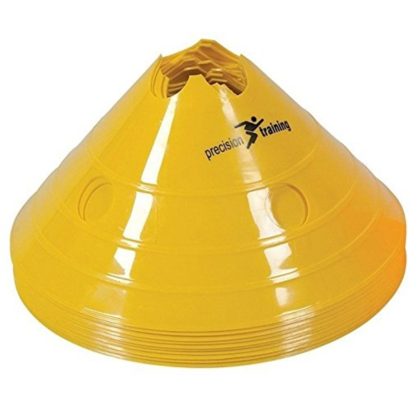 Precision Giant Saucer Cone (Set of 20) - Yellow