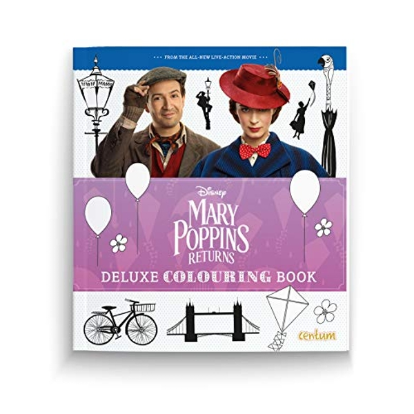 Mary Poppins Returns Deluxe Colouring Book  Paperback / softback 2018