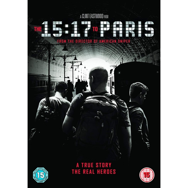 The 15:17 To Paris DVD