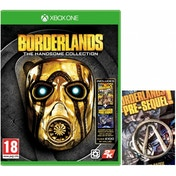 Borderlands The Handsome Collection Xbox One Game + Pin Badge